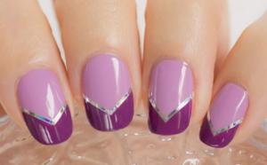 «Фиалковые» ногти