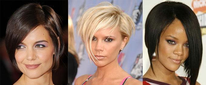 Симметрия стрижка на средние волосы фото