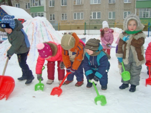 Детская зимняя олимпиада игра
