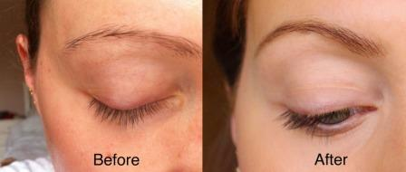 Касторовое масло для бровей фото до и после