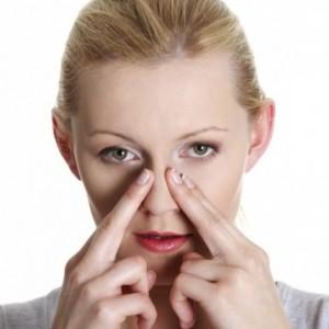 Массаж носовых перегородок и пазух