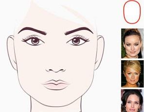 Прямоугольное (продолговатое) лицо