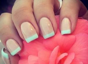Как накрасить ногти двумя цветами. Как правильно подобрать цвета 66