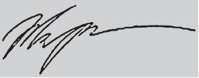 подпись Владимира Жириновского