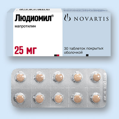 Мапролитин (Maprolitine) лудиомил