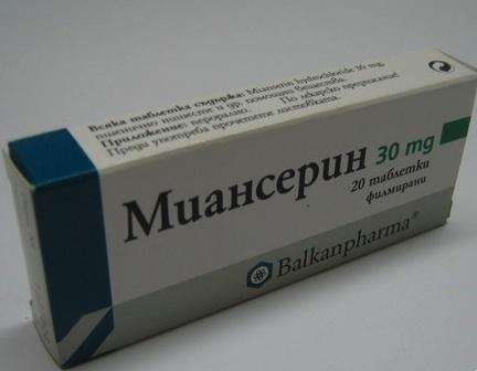 Миансерин от депрессии