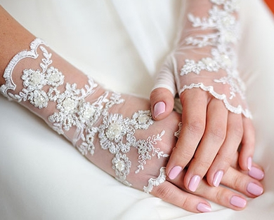 Свадебный маникюр шеллак фото