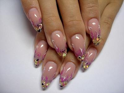 аквариумный дизайн с розовыми элементами фото