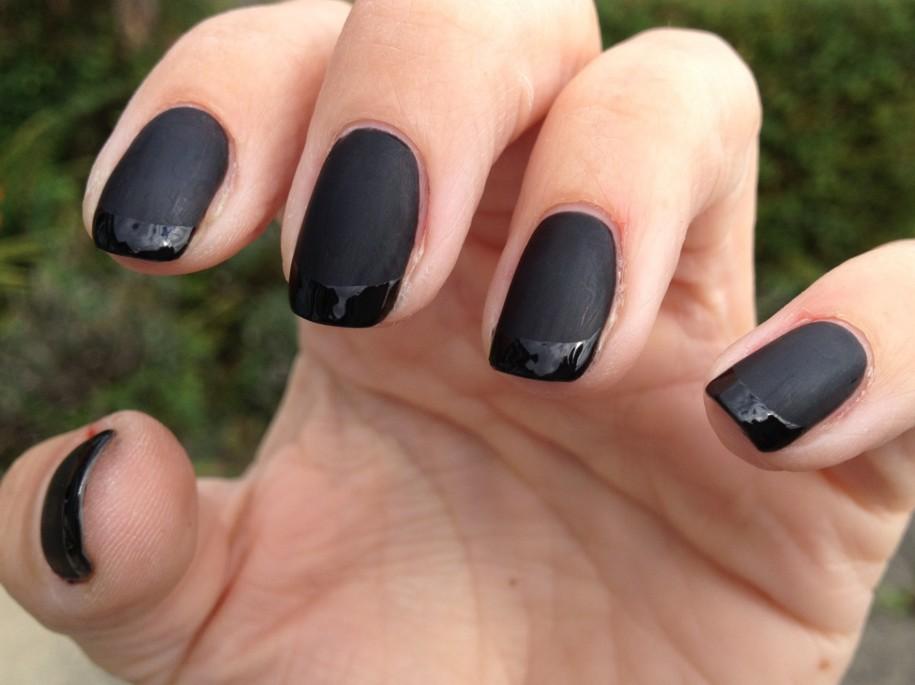 Черный Матовый Шеллак Фото