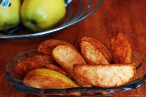 печеные яблоки с корицей рецепт