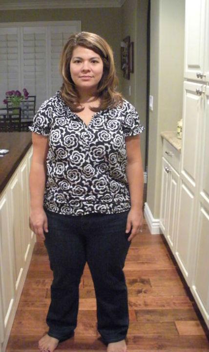 домохозяйка похудела
