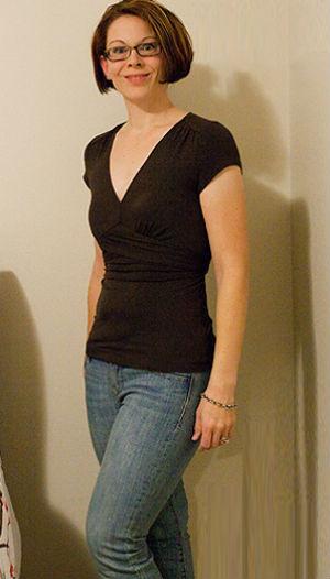 фото похудевшей женщины после