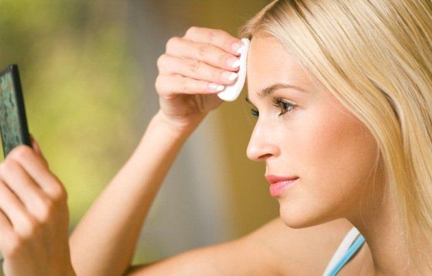 Как восстановить кожу лица после макияжа?