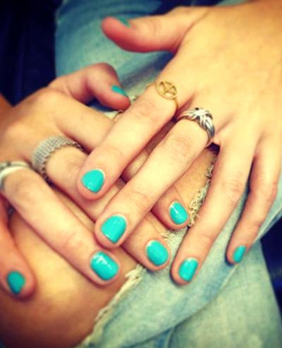 Дизайн для коротких ногтей френч фото