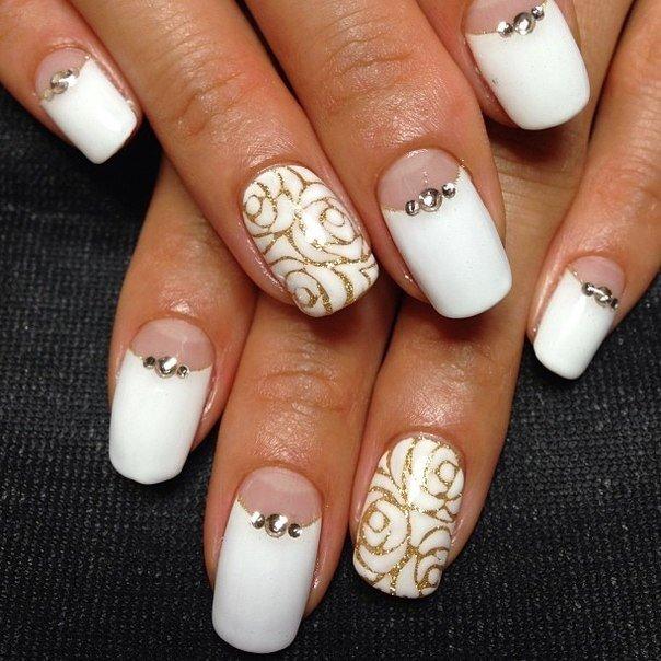 Луна дизайн ногтей