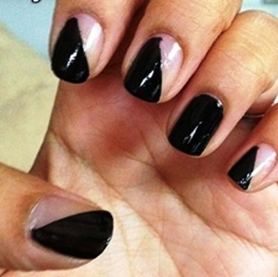 покрытие лаком каждого ногтя