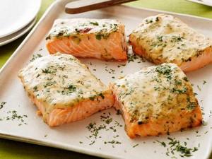 диета 90 дней рецепт лосося под горчичным соусом