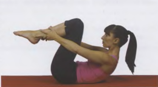 пилатес для похудения Растягивание прямых ног по одной