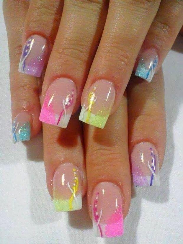 Гелевые ногти дизайн 2015 фото