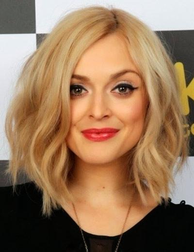 каре блондинки фото