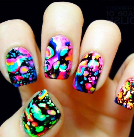Лето рисунки на ногтях