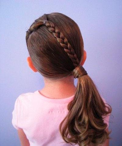 коса переходящая в хвост