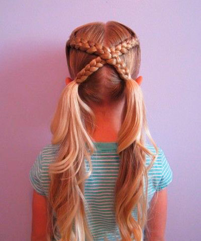 pigtails cross to cross