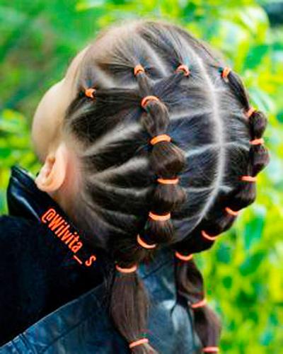 вдоль волос