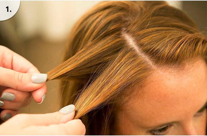 прическа водопад на длинные волосы фото