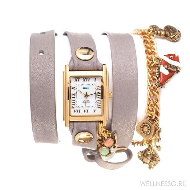 часы с длинным ремешком