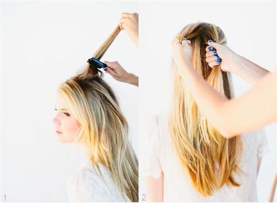 делаем косу рыбий хвост фото-1