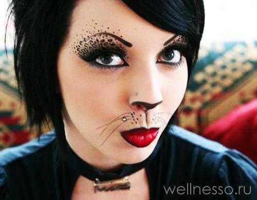 кошка-макияж-фото