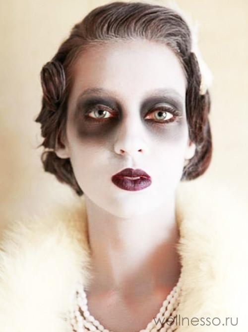 фото вампира на хэллоуин