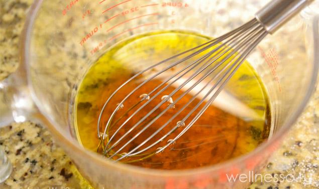масло и мед для скраба