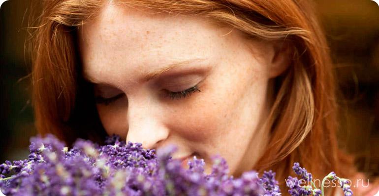 запах женщины делает ее моложе