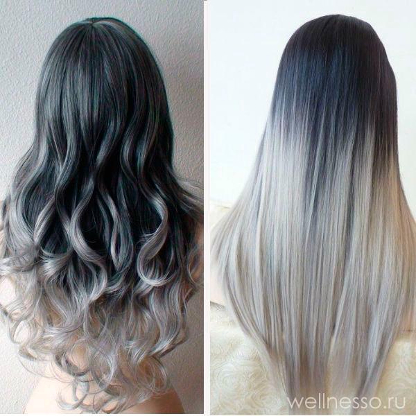 Прическа - водопад из волос