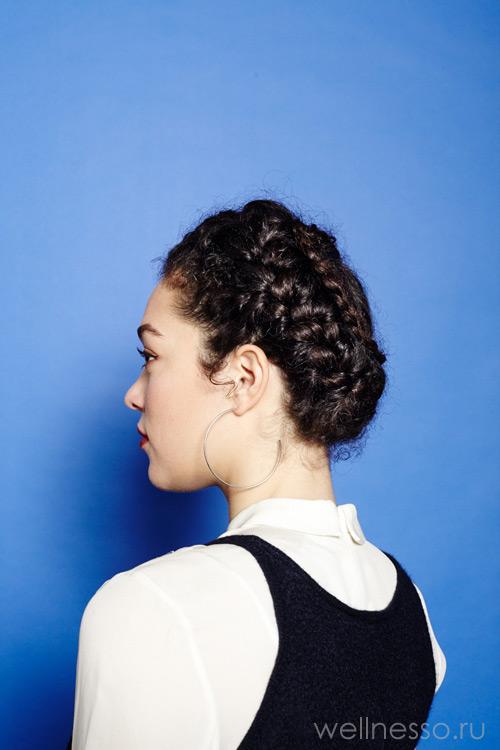 Кольцо корицы для кудрявых волос