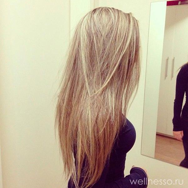картинки волос девушки отрощеных сзади