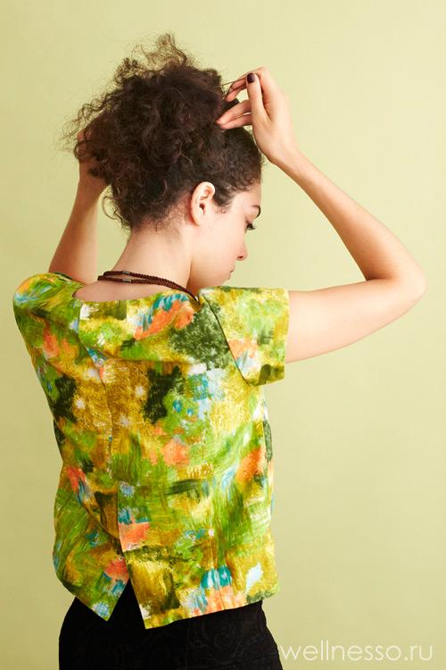 Закрепите кудрявые волосы шпильками