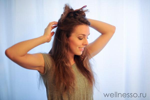 Заколите волосы