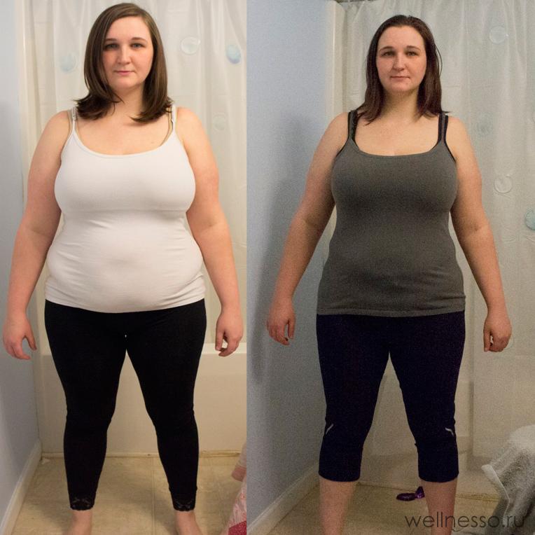 фото результаты диеты 6 лепестков