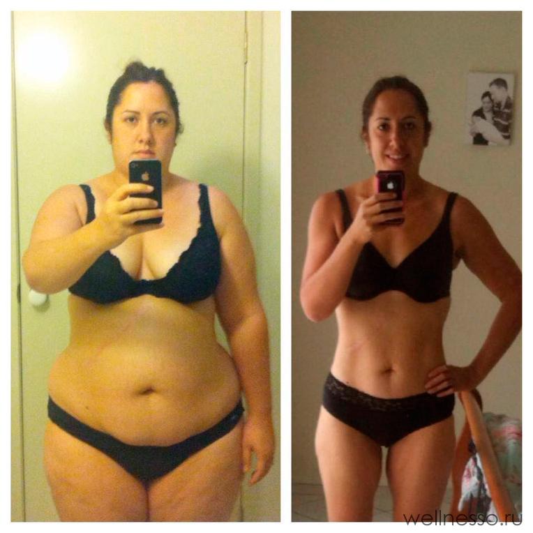 похудеть за месяц легко