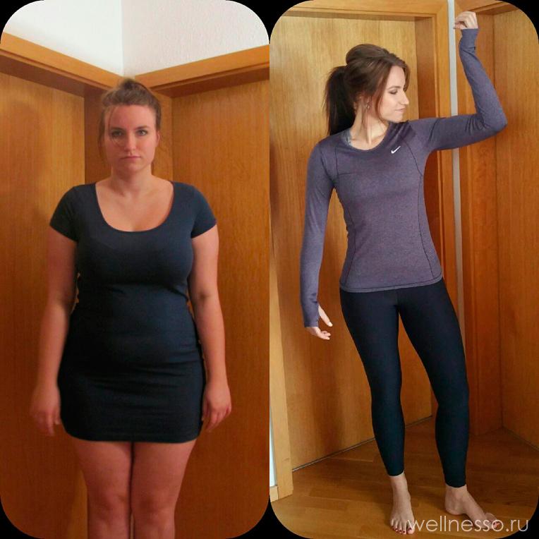 История похудения Ангелины: за 2 месяца минус 13 кг без