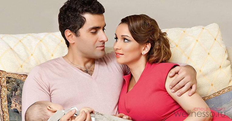 Рост, вес, параметры счастливой супруги и мамы Анфисы Чеховой