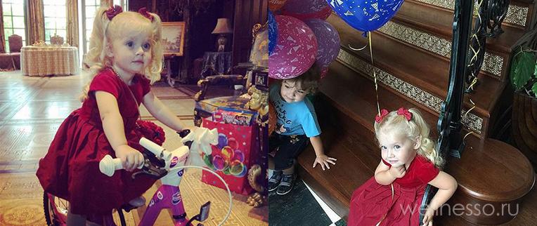 Дочь Пугачевой и подарок на день рождения 2016