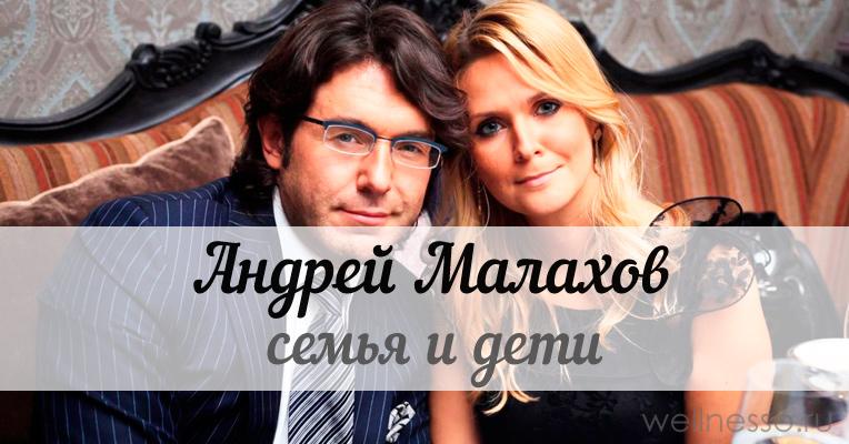 Фото андрея малахова и его жена