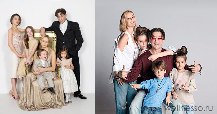 Семейное счастье певца