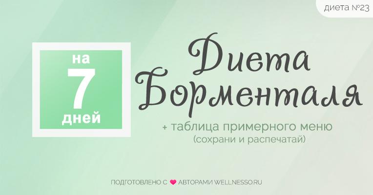 Доктор борменталь программа похудения