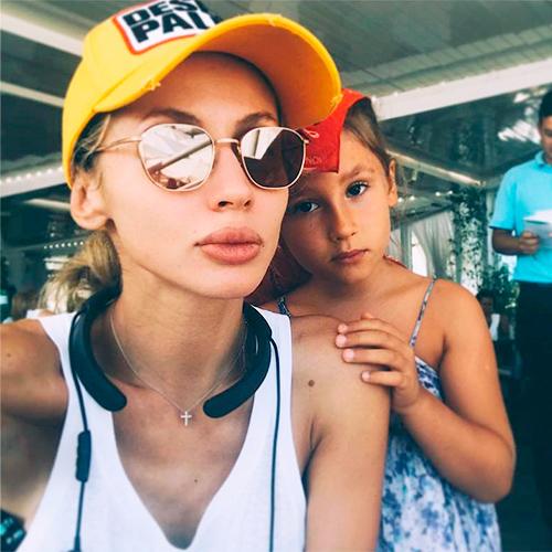 Светлана с дочерью