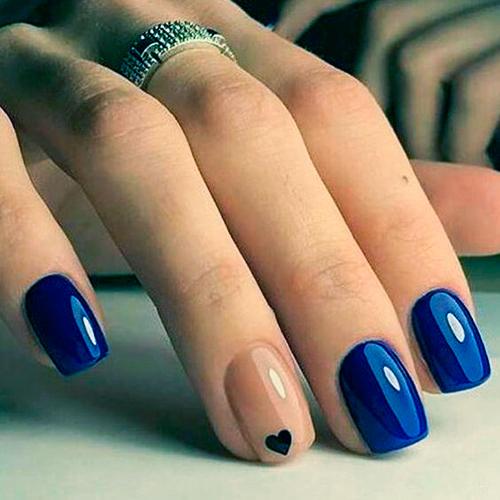Смотреть Зимний дизайн ногтей шеллаком видео